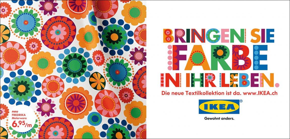 Ikea Stoff viznerborel agentur für kommunikation gmbh ikea